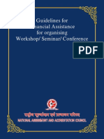 Publications_Guidelines for Financial Assistance for Organising Workshop