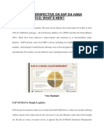 SAP Logistics Training | SAP Simple Logistics PDF