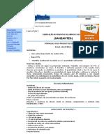 Varias Formulas Completas e Gratuitas, Curso Gratuito de Fabricação de Produtos de Limpeza Do Livros Digitais