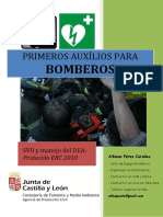 Documentación Primeros Auxilios Para Bomberos 2014