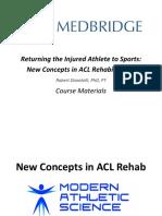 Course Medbrige Ligamento Cruzado Anterior