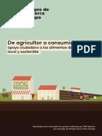 FOE Local Food ESP FINAL WebDe Agricultor a Consumidor