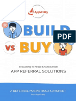 Build vs Buy - Evaluating in-house & Outsourced App Referral Solutions