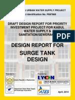 Surge Tank Design Afghanistan