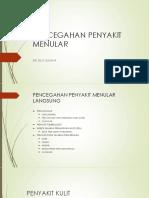 Pencegahan Penyakit Menular Pelat Dokter Kecil