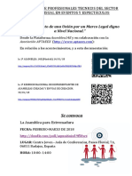 ASAMBLEA Extremadura- Nota Informativa