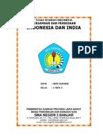 Budaya Indonesia Dan India