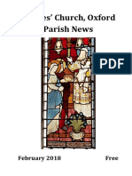 St Giles, Oxford February 2018 Parish News