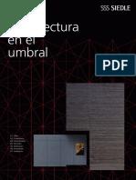 Siedle Magazin 2 - Arquitectura en El Umbral