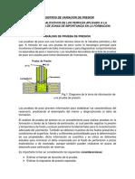Registros de Variacion de Presion Docs