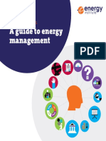 Energy Essentials a Guide to Energy Management