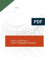 FDA Part11 Regulated Industries BR En