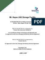 LNG Gas Storage