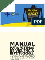 Manual Para Vítimas de Violência Institucional