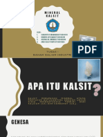 Presentation Mineral Kalsit