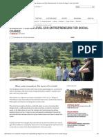 Building Village Level Eco-Entrepreneurs for Social Change_ Coca-Cola India