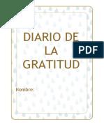 Hoja Diario Gratitud