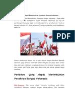Peristiwa Yang Dapat Menimbulkan Pecahnya Bangsa Indonesia