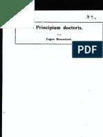 Principium doctoris