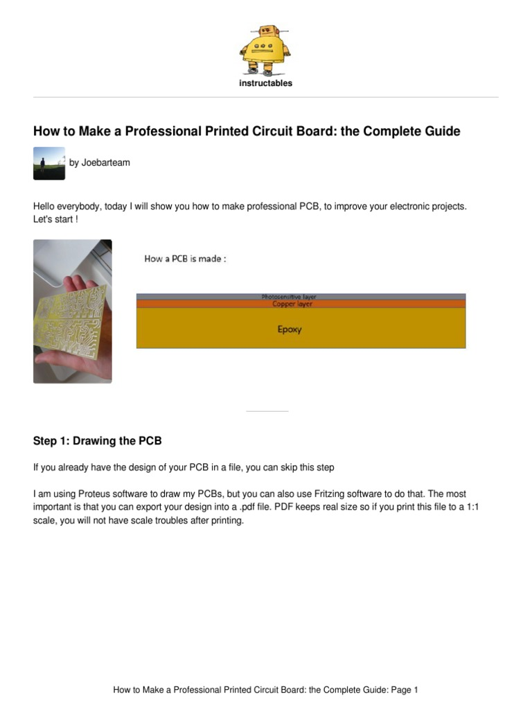 How To Make A Professional Printed Circuit Board Electronic Design Using Proteus Sodium Hydroxide