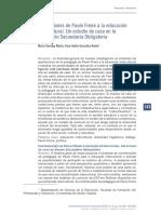 Aportaciones de Paulo Freire a La Educación