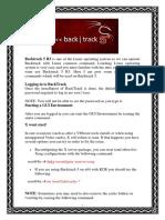 Backtrack 5R3 Linux Commands