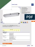 6401 Luminaire for Fluorescent Lamp EK00 III En