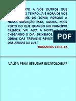 2014-09-06 - Sábado - Descobrindo o Propósito Da Escatologia