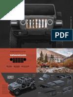 Jeep Wrangler (JL) Reveal Brochure (2018)