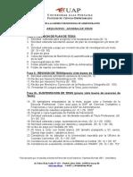 Requisitos Titulacion Por Tesis