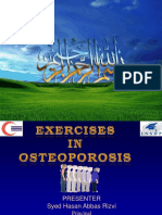 GR LECTURE 3 Exercise in Osteoprosis
