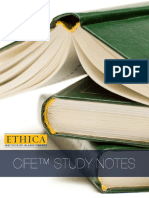 Ethica CIFE Study Notes