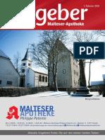 Ratgeber aus Ihrer Malteser-Apotheke – Februar 2018