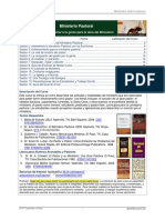 Ministerio Pastoral Cuestionario