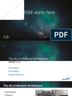 BRKRST-3114 the Art of Network Architecture
