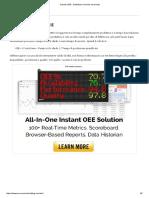 Calcola OEE - Definizioni, Formule Ed Esempi