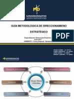 2017-06-10 Presentación Guía Metodológica Institucional de Direccionamiento Estrategico