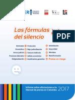 Informe Fecolper 2017 - Las fórmulas del silencio