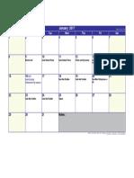 gr 4 january 2017 calendar