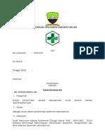 Dokumensaya.com Sop Penerimaan Spesimen Laboratorium