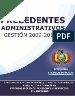 Precedentes Administrativos 2009-2010