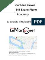 Concert Sur La Peniche Le Marcounet