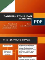 Panduan Penulisan Harvard