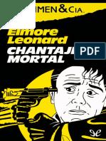 Leonard Elmore - Chantaje mortal.epub