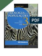 Biologia Das Populações Volume 3 (Amabis e Martho)