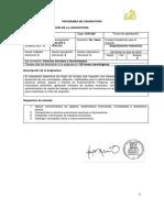 Programa finanzas I
