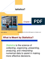 Chap001What is Statistic