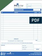 Informe de Inspección DDA MAH