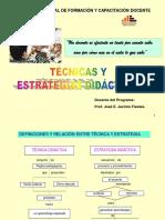 Técnicas y Estratégias Didácticas