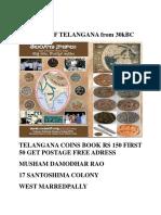 History of Telangana From 30kbc Book
